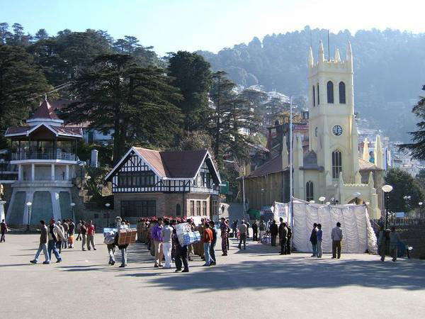 Jakhoo Hill Temple Shimla