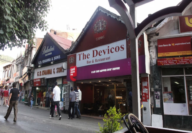 The Devicos Restaurants In Shimla